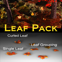 Leaf Pack for Vue 3D Models Scott2753