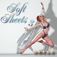 Soft Sheets 3 - The Isadora Collection 3D Figure Essentials 3D Models SaintFox