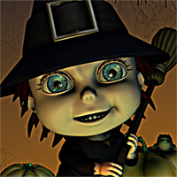 Little Witch 3D Models 3D Figure Assets smay