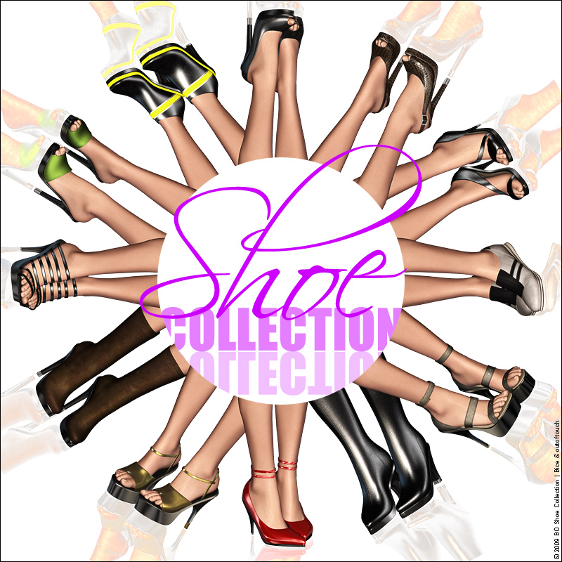 BO Shoe Collection for V4 by outoftouch