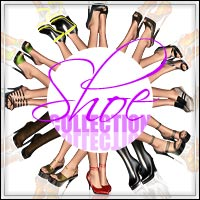 BO Shoe Collection for V4 3D Models 3D Figure Essentials outoftouch
