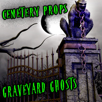Cemetery Props and Graveyard Ghosts 3D Models LukeA