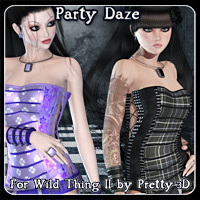 Party Daze for Wild Thing II  Blazerwiccan