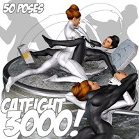 Catfight 3000 Themed Poses/Expressions Darkworld