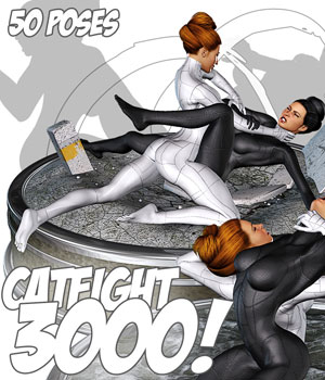Catfight 3000 3D Models 3D Figure Assets Darkworld