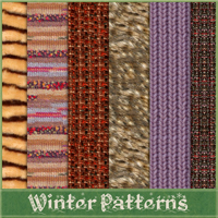 Winter Patterns 2D And/Or Merchant Resources Atenais