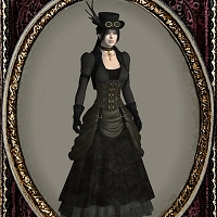 Antique for Steampunk V4 Clothing Themed HandspanStudios