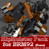 HipHolster Pack for BRM92 3D Models motokamishii