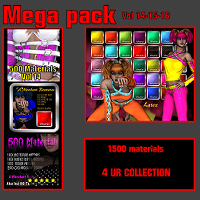 WD mega Materials Vol 14-15-16 2D Graphics 3D Figure Assets WhopperNnoonWalker-