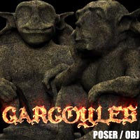 Gargoyles - The Imps 3D Models designfera