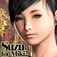 MH Suzu for Miki2 Themed Characters Software manihoni