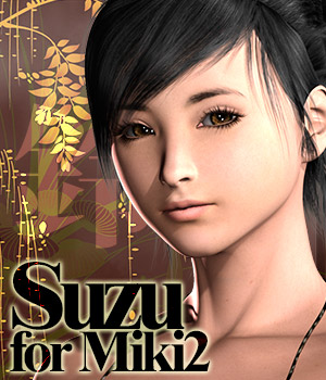 MH Suzu for Miki2 3D Models 3D Figure Essentials manihoni
