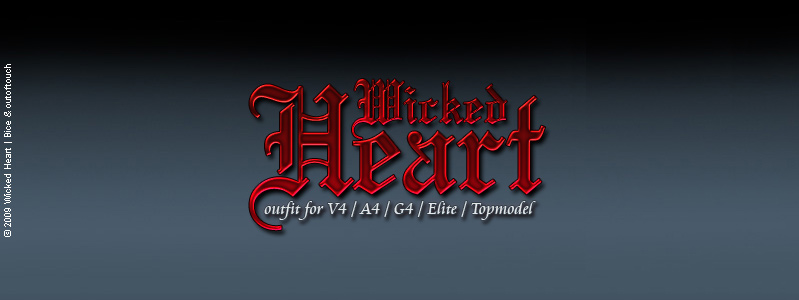 Wicked Heart for V4/A4/G4/Elite/Topmodel