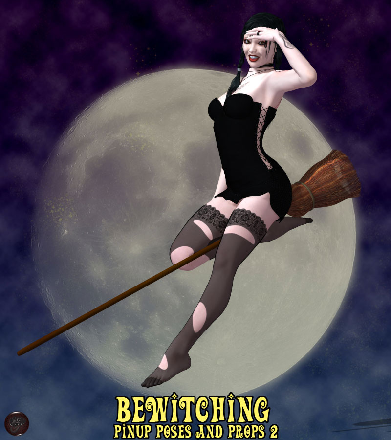 Bewitching Pinup Poses and Props 2