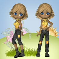 Cookie Fashion 3D Figure Assets 3DTubeMagic