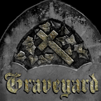 Graveyard Brushes Themed 2D And/Or Merchant Resources mystikel