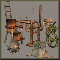 Dungeon Stuff 3D Models kawecki
