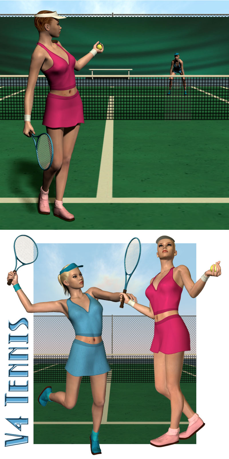 V4 Tennis Outfit & Set by Richabri