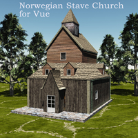 Norwegian Stave Church  capelito