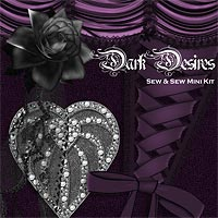 sew and Sew Dark Desires 3D Models 2D Graphics macatelier