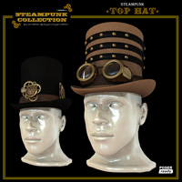 SteamPunk - TopHat Themed Accessories Software jonnte