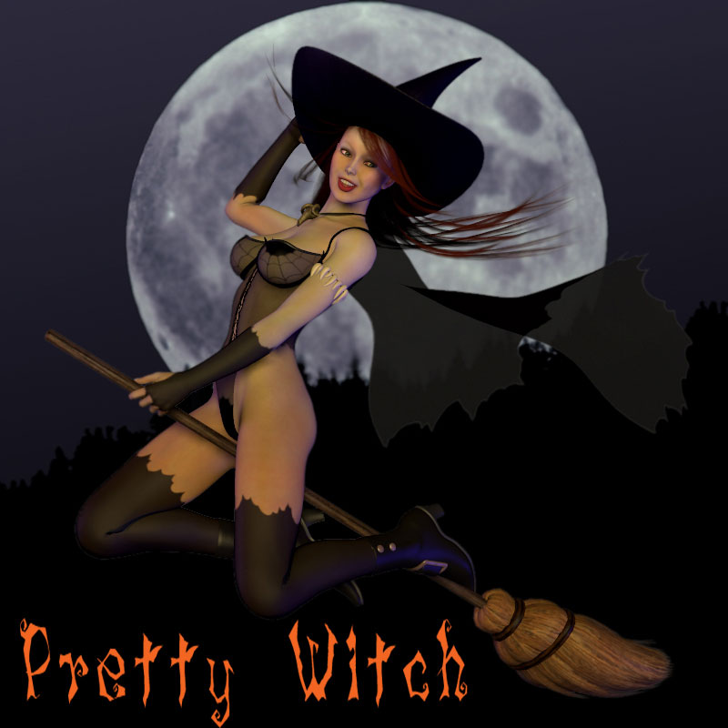 Pretty Witch for V4/A4/G4/Alice/Utopian