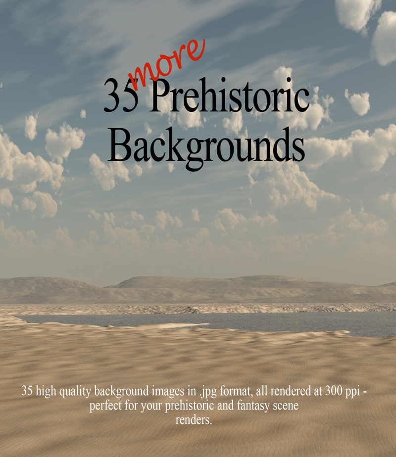 35 More Prehistoric Backgrounds