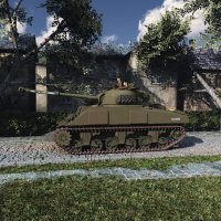 Sherman Firefly (for Poser) Themed Transportation ranman38