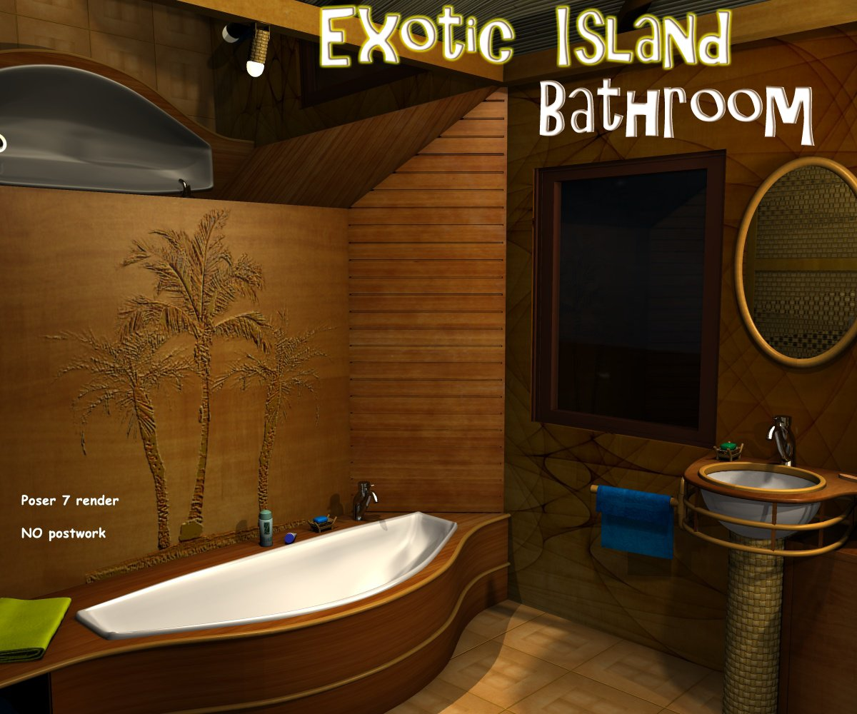 Exotic island - Bathroom