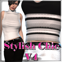 Stylish Chic for V4 3D Figure Essentials nikisatez