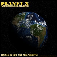 Planet X for Poser and Daz Studio 3D Models cdbernier