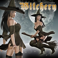 Witchery 3D Models 3D Figure Assets Pretty3D