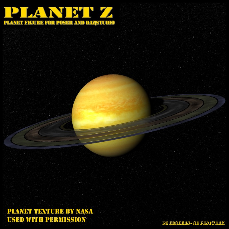 Planet Z for Poser and Daz Studio