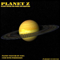 Planet Z for Poser and Daz Studio 3D Models cdbernier