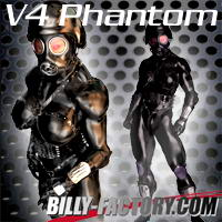 V4 Phantom 3D Figure Assets billy-t