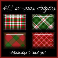 Christmas Styles 2D Graphics moshgrafix