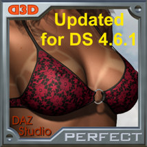 D3D Perfect Tan Line DS - Sexy V4 3D Figure Assets 3D Software : Poser : Daz Studio : iClone Dimension3D