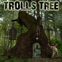 Troll Tree 3D Models Simon-3D