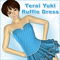 Terai Yuki Ruffle Dress  karanta
