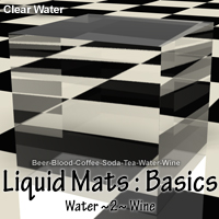 Liquid Mats : Basics 3D Figure Essentials 2D ayukawataur