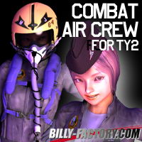 TY2 Air Crew Set Hair Clothing billy-t