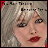 Pc's Hair Resource Texture Kit Set 1 2D Graphics Propschick
