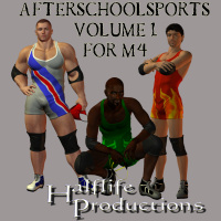AfterSchoolSports vol.1 3D Models 3D Figure Essentials vulcanis