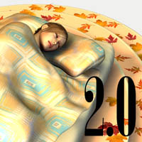 Sleeping Late 2.0 3D Figure Assets 3D Models Oskarsson