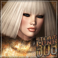 Steampunk Bob Hair by Bice