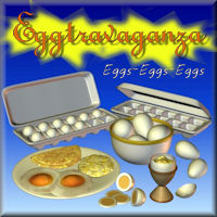 Eggtravaganza 3D Models pappy411