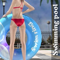 Swimming pool Props/Scenes/Architecture Poses/Expressions halcyone