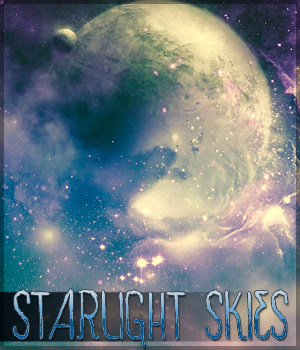 Starlight Skies 2D Graphics Sveva
