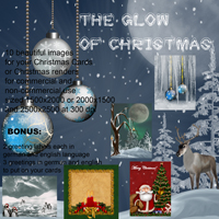 The Glow of Christmas 3D Models 2D Graphics capelito