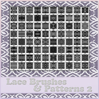 Lace Brushes & Patterns 2 2D Atenais